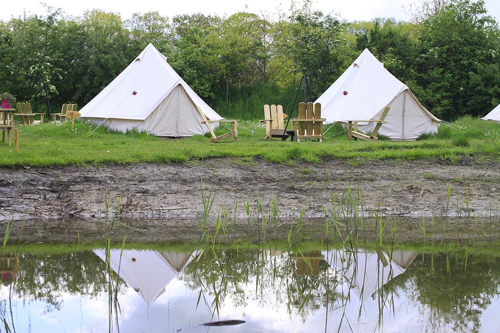 De tenten van Oetdoor