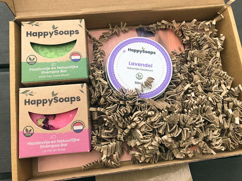 Happy Soaps zending
