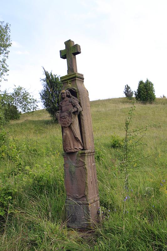 Een beeld van de kruisweg